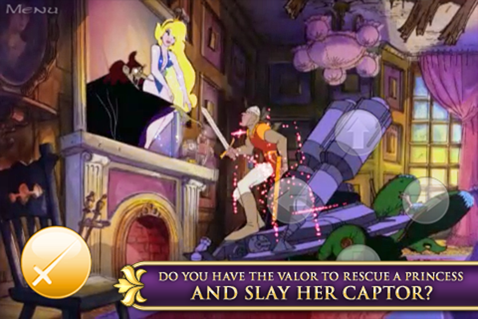 Screenshot Dragon's Lair 2: Time Warp